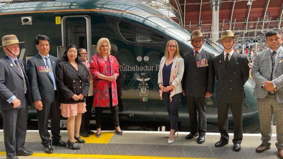 Train named after Gurkha hero Tulbahadur Pun