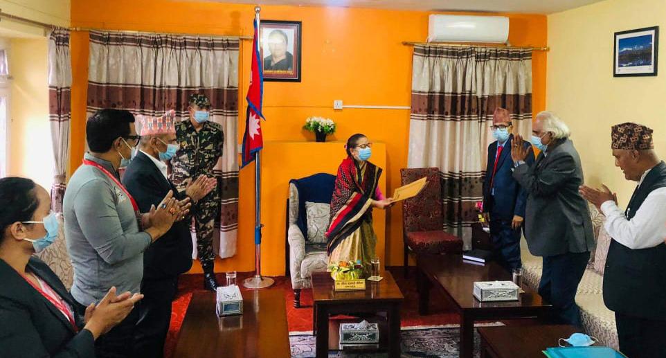 गण्डकी प्रदेशको मुख्यमन्त्रीमा कांग्रेस नेता पोखरेलको दाबी