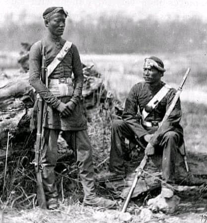 Nepal Gorkha Army during 1875-76 , guarding Nepalese Territory We are Proud of you