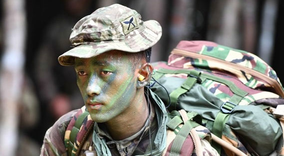 he Gorkhas, soldiers native to the Kingdom of Gorkha, present-day Nepal