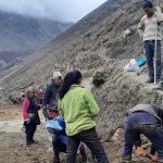 तिब्बत जोड्ने सडक निर्माणमा जुटे उत्तरी गोरखाका बासिन्दा